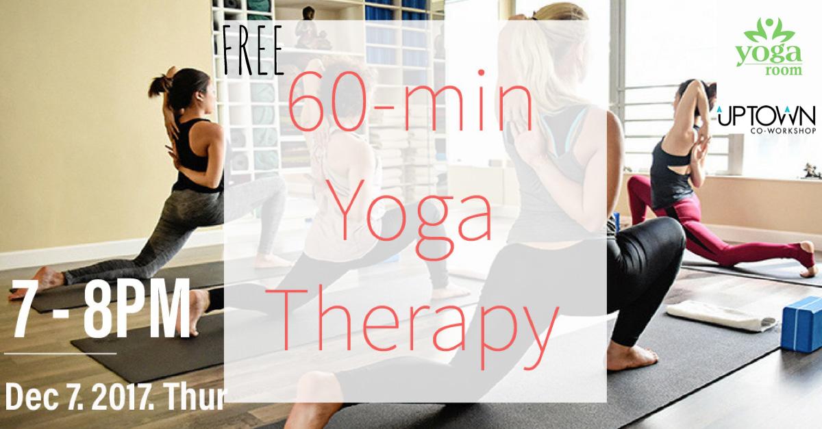 FREE 60-min Yoga Therapy