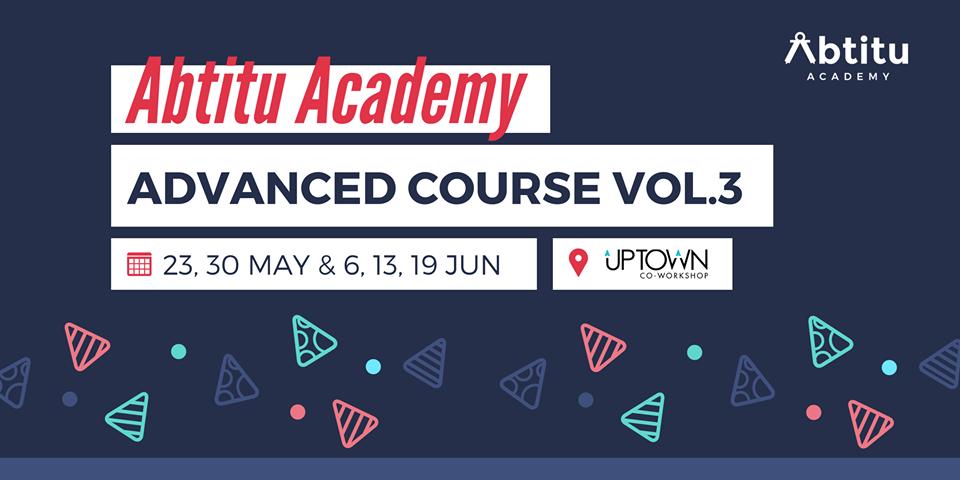 Abtitu Academy 進階課程 VOL.3