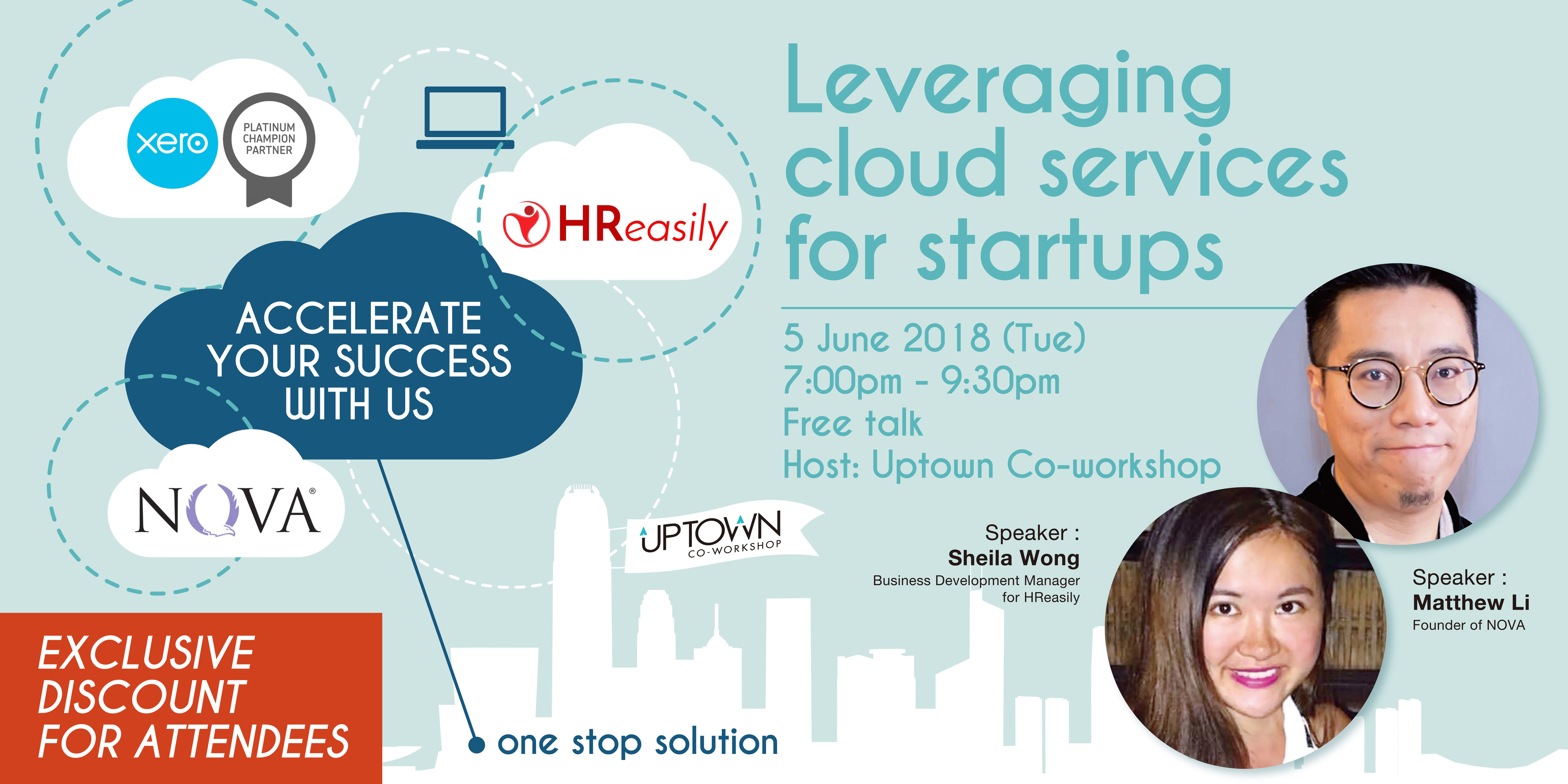 Leveraging cloud services for startups