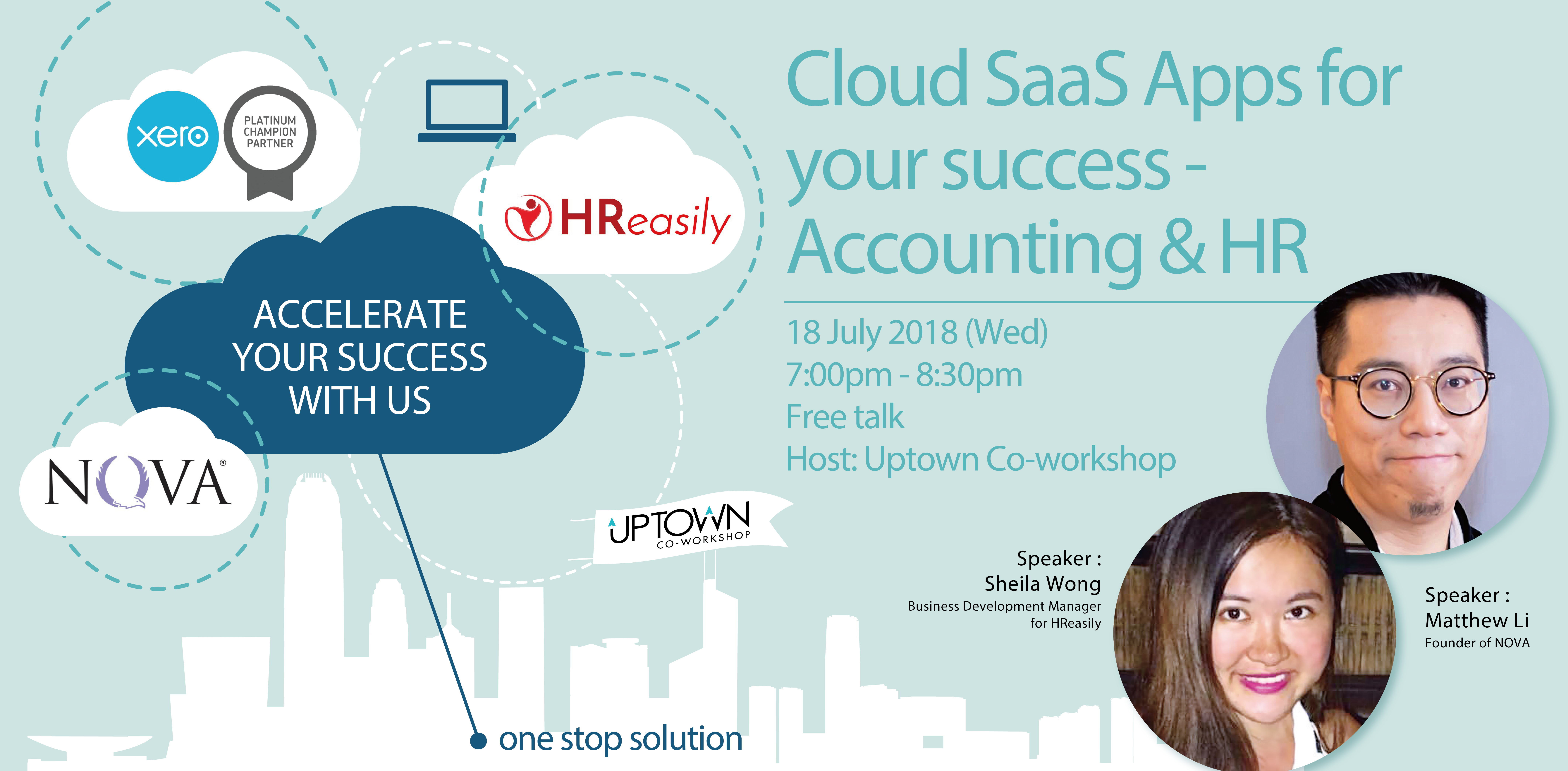 Cloud SaaS Apps For Your Success- Accounting & HR