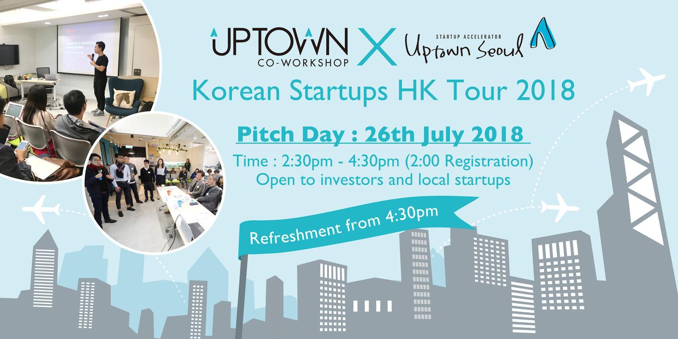 Korean Startups HK tour 2018- Pitch Day