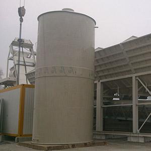 zateplená jímka pro betonárny 2