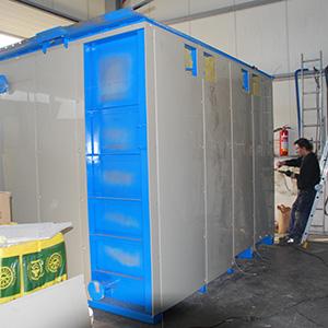 Vyplášťování betonových záchytných van pro pitnou vodu 2