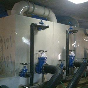 Úpravna vody, provzdušňovače 3