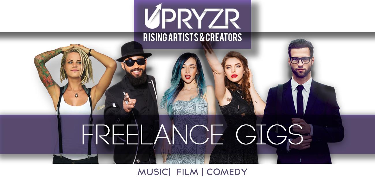 UPRYZR FREELANCE GIGS
