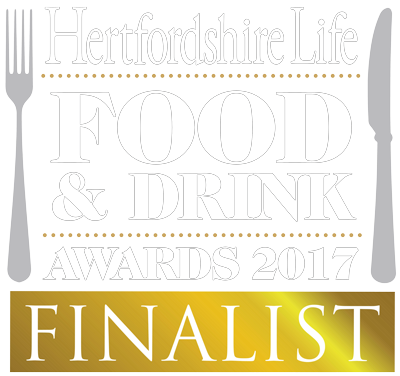 Hertforshire life food and drink awards finalist 2017 logo