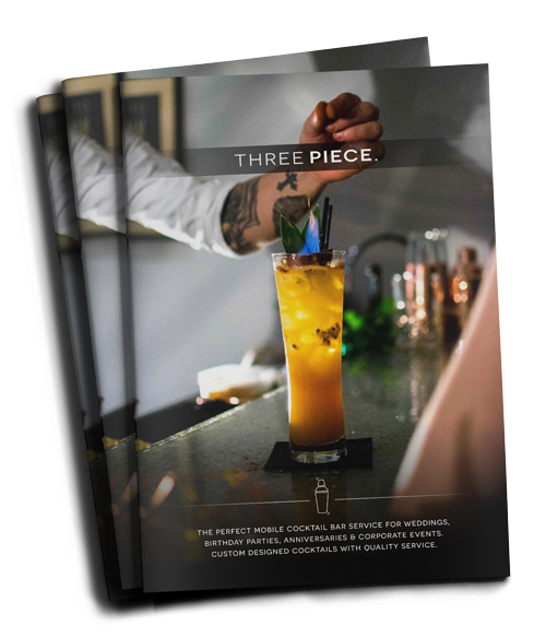 Private parties cocktail pricing brochure