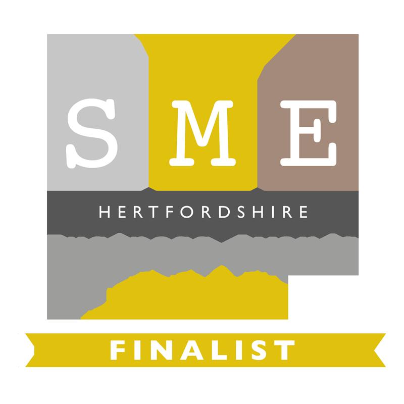 SME Hertfordshire Business Awards Finalist 2018 logo