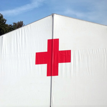 Red Cross Military Tent