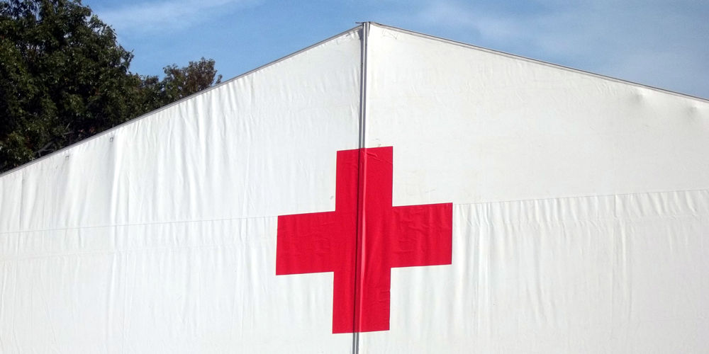 Red Cross Army Tent