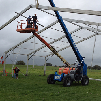 Building The Tent
