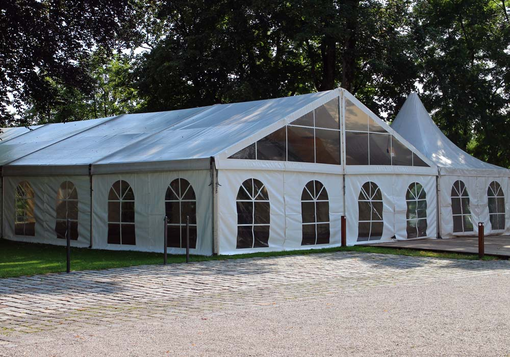 Structure Tent with Window Walls