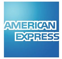 We accept American Express Payments.