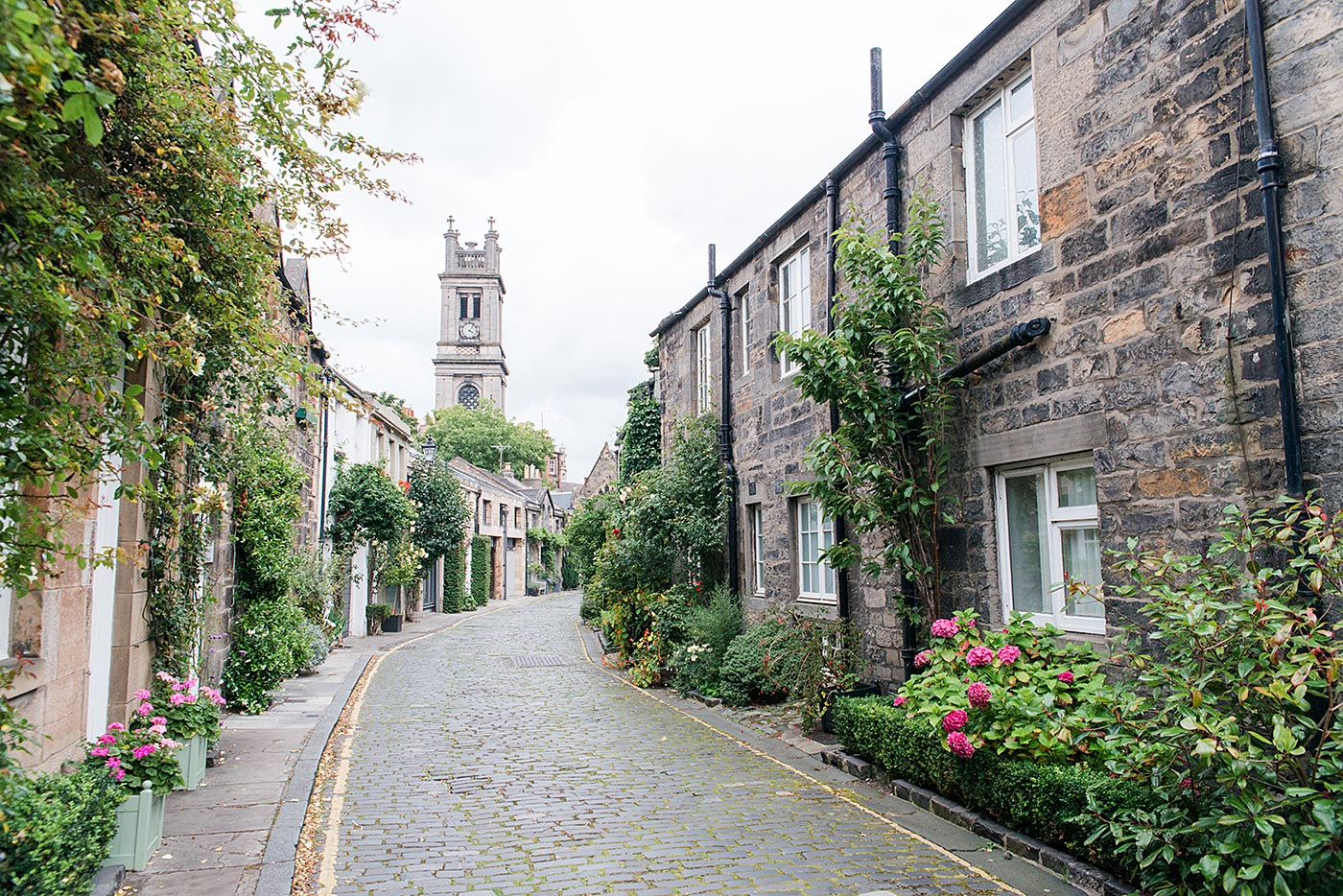 Proposal Photographs Edinburgh Circus Lane Stockbridge