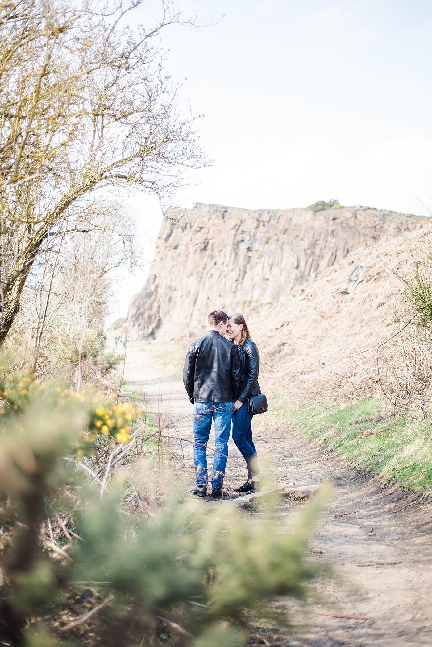 Proposal Photographs Edinburgh Salisbury Crags