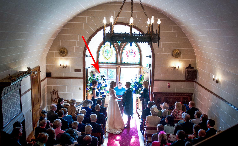 Wedding Photographer Dalhousie Castle