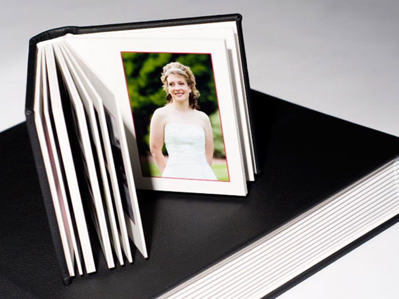 How many pages are in a wedding album