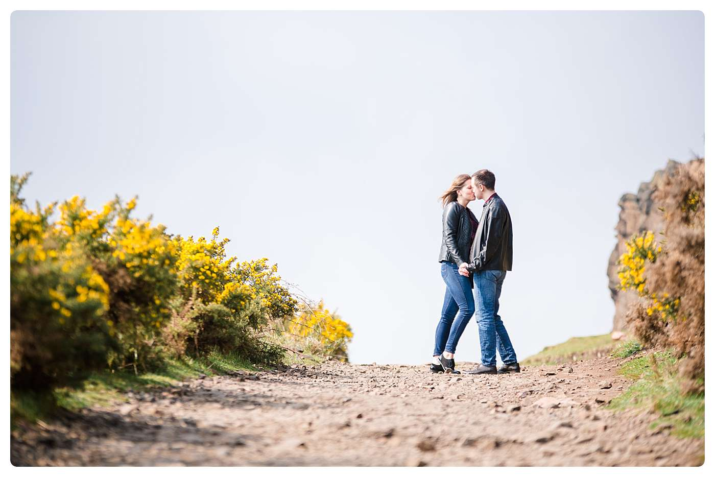Engagement Photo Session Arthur's Seat Edinburgh