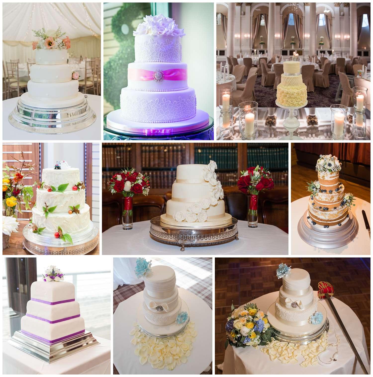 Three-tier wedding cake ideas, ideas for your wedding cake