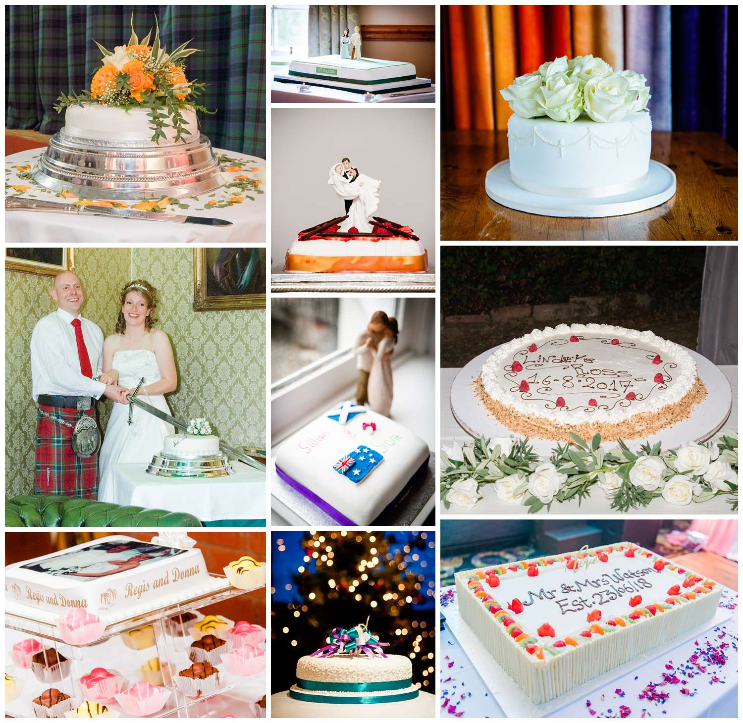 One-tier wedding cake ideas, ideas for your wedding cake