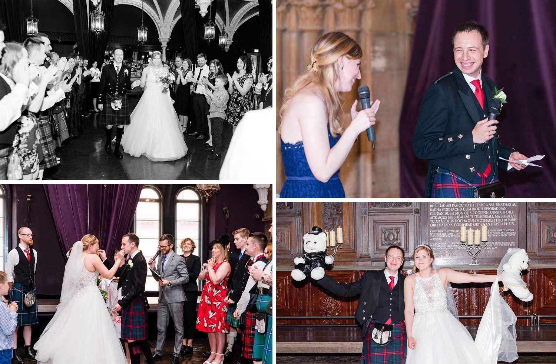 wedding photographs Ghillie Dhu Edinburgh