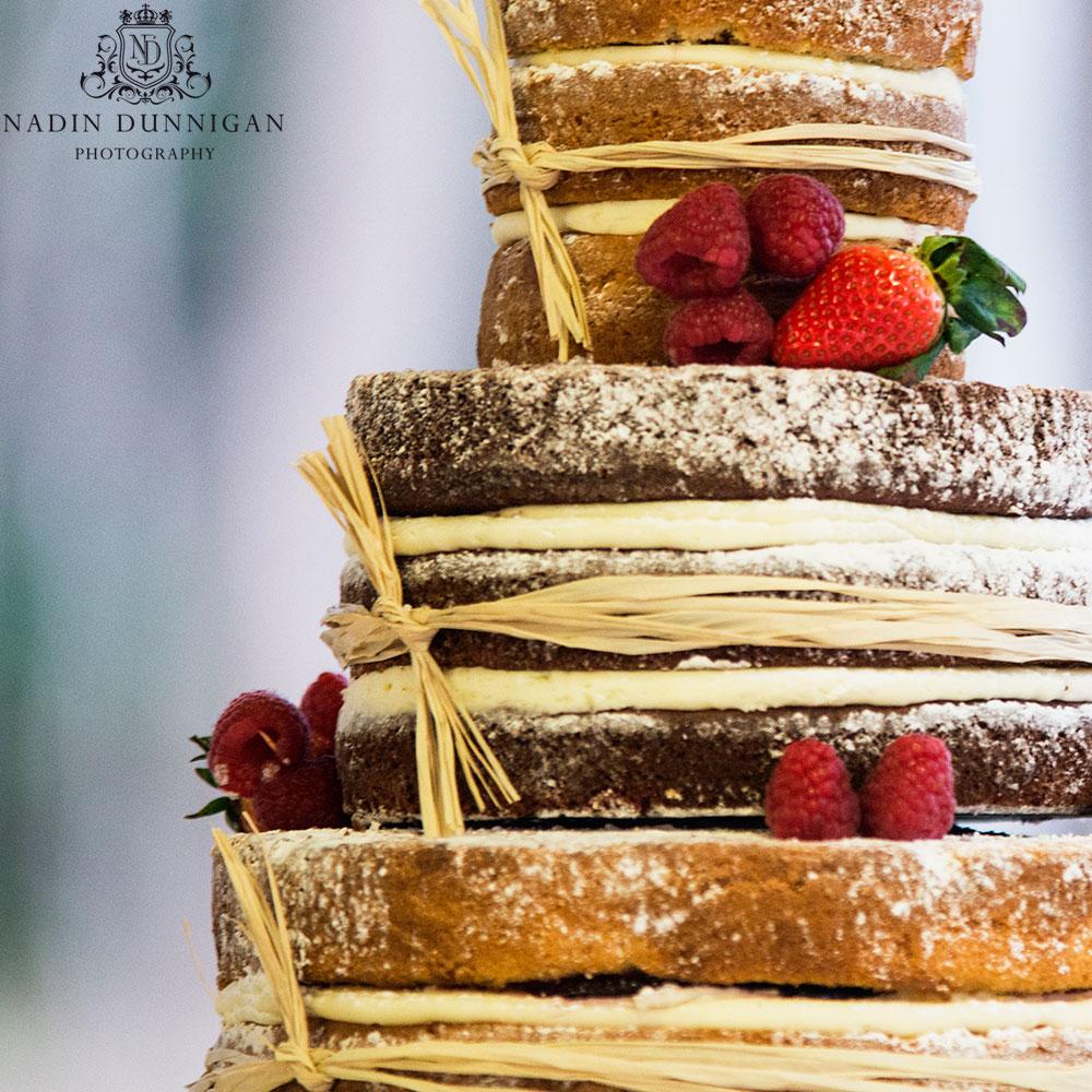 Traditional wedding cake, naked wedding cakes