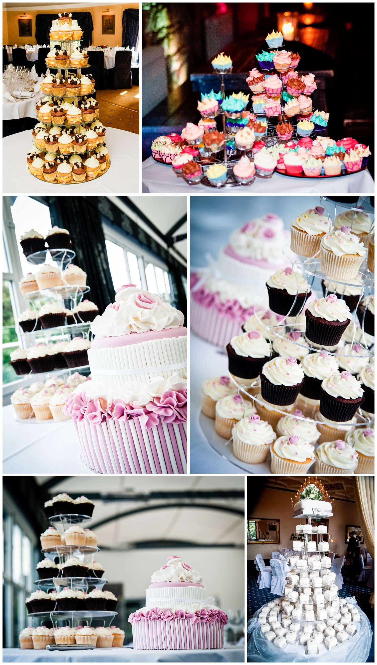 Cupcake wedding cake ideas, ideas for your wedding cake