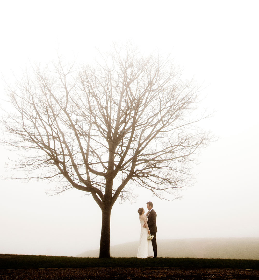 Having a winter wedding is not all doom and gloom - it can be magical, winter wedding planning