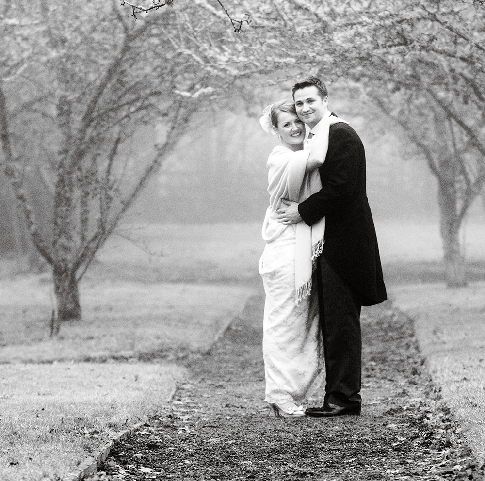 Winter temperatures are low so make sure you wrap up warm, winter wedding planning