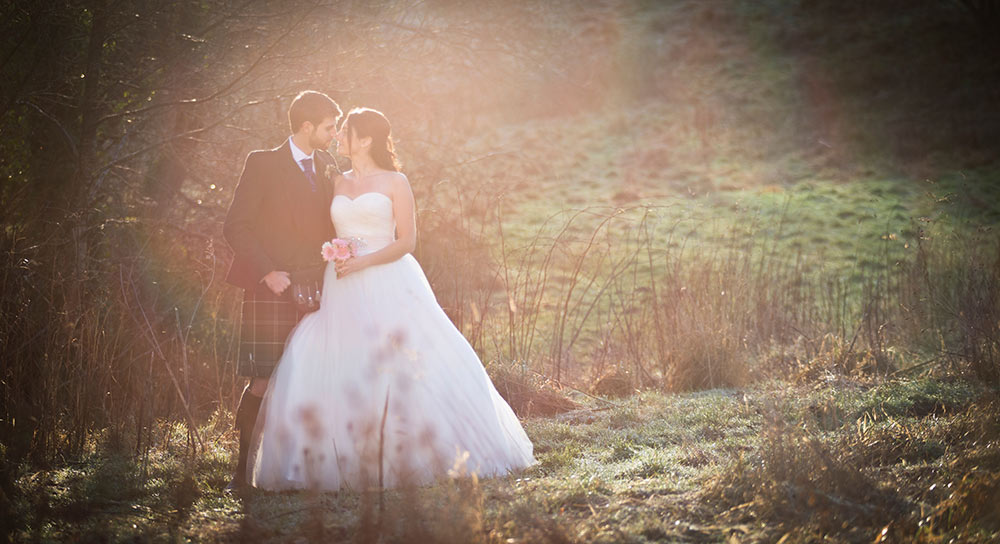 Making the most of the daylight hours, winter wedding planning