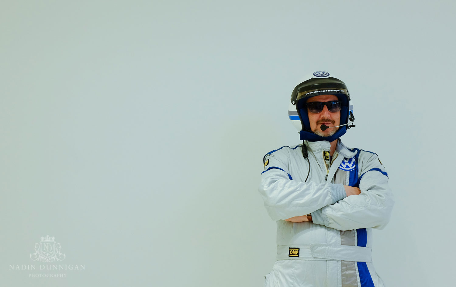 The Stig (or maybe some else called Colin), pre-shoot model