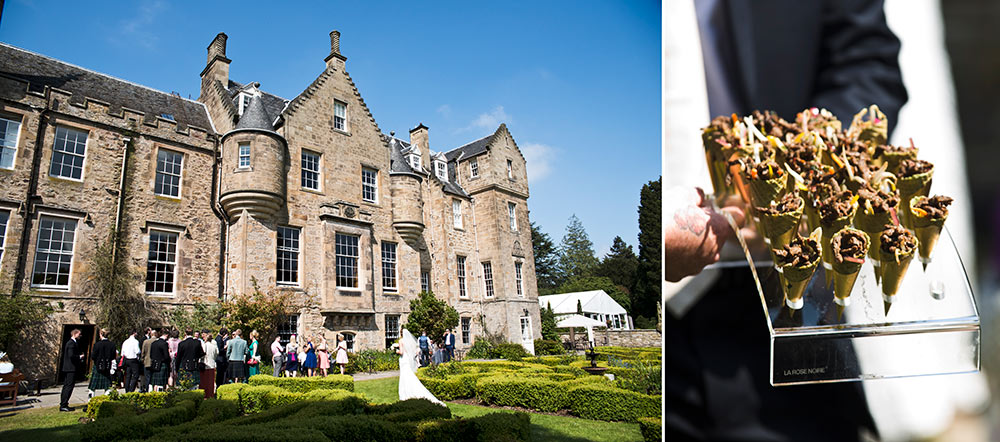 Carberry Tower allows for personal touches to be added to the day, Carberry Tower Wedding Venue near Edinburgh