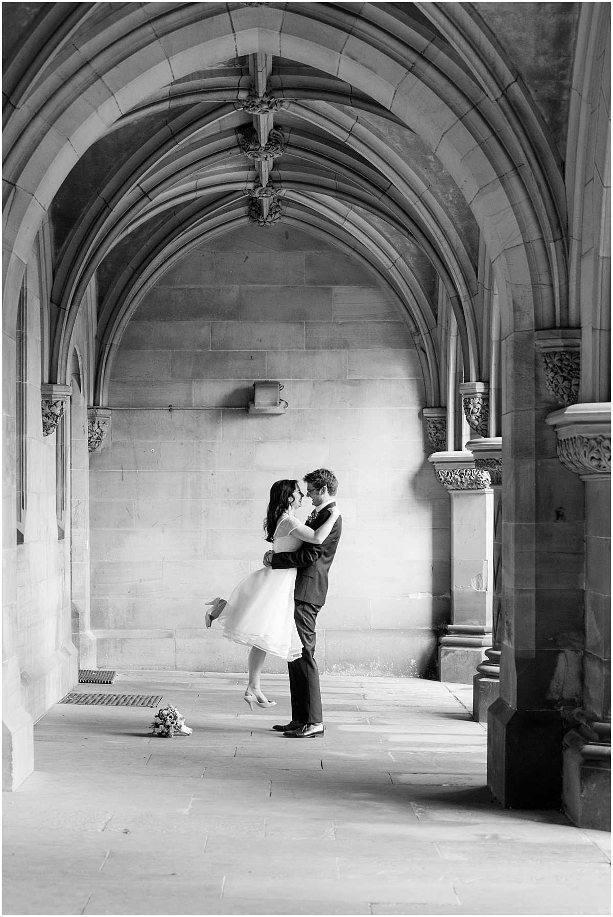 Romantic Wedding Photos Fettes College Edinburgh