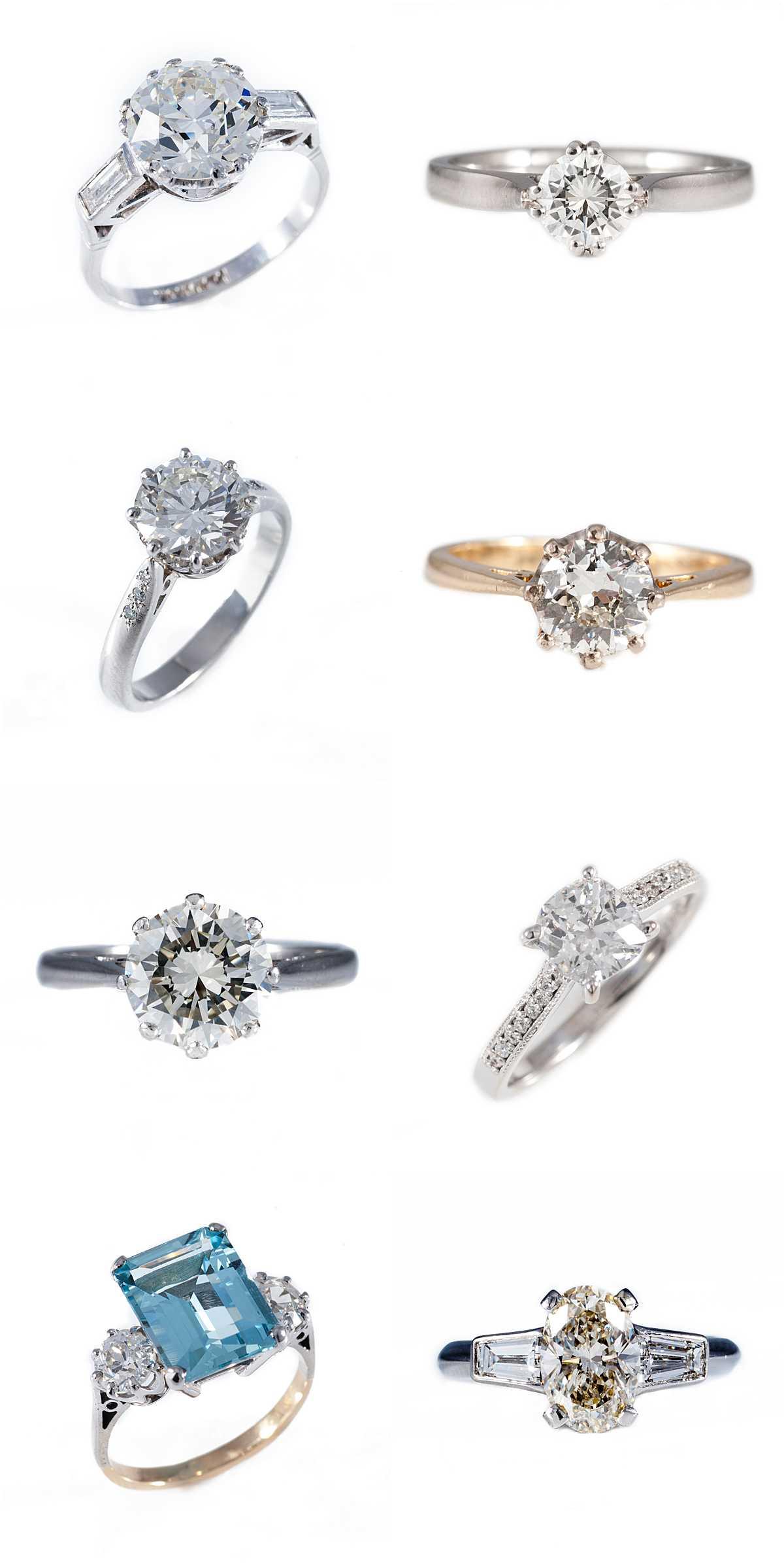 Sparkling Diamond Engagement Rings - Wedding Photography Edinburgh