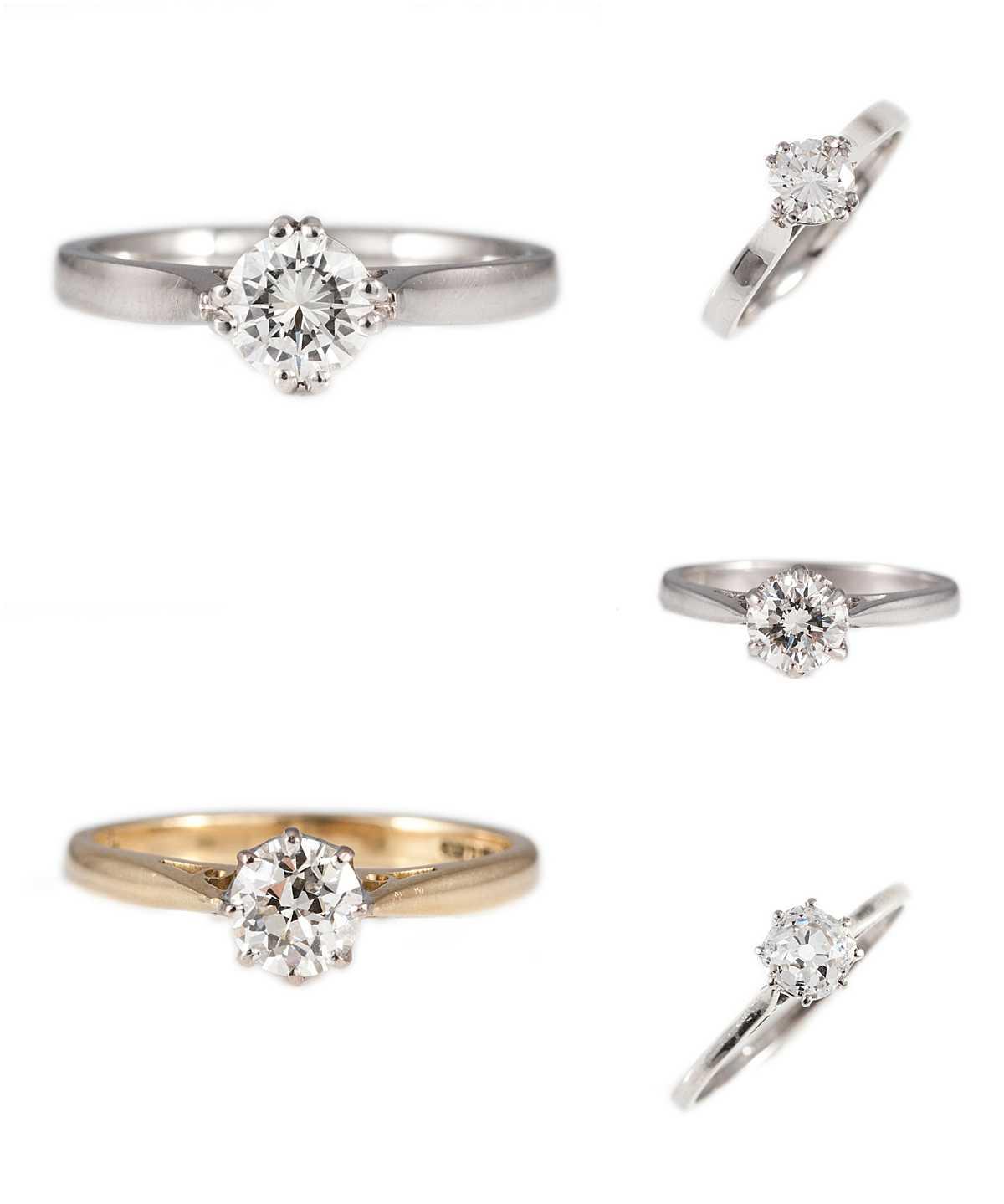 Classic Engagement Rings - Wedding Photography Edinburgh