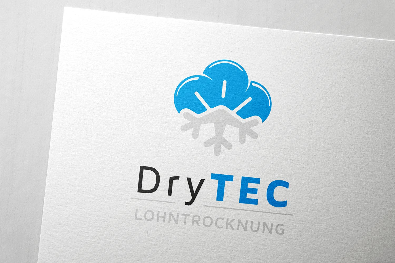 Logodesign für DryTEC