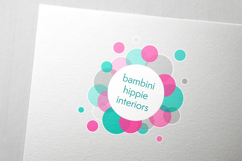 Logodesign für Bambini Hippie Interiors