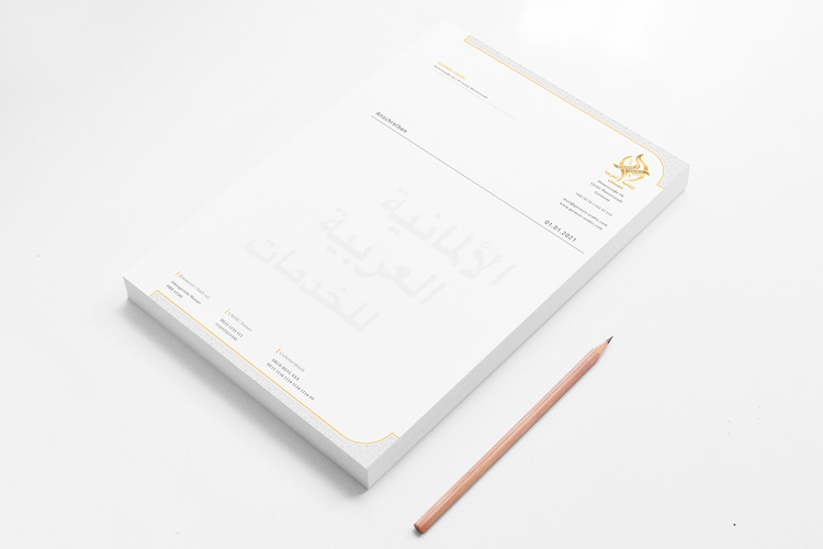 Corporate Identity für German-Arabic Services