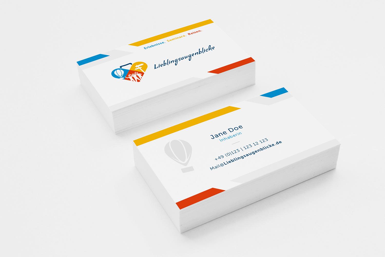 Corporate Identity für Lieblingsaugenblicke