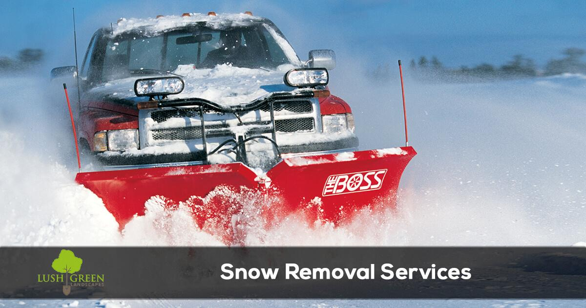 Grand Junction Colorado snow removal and plowing services.