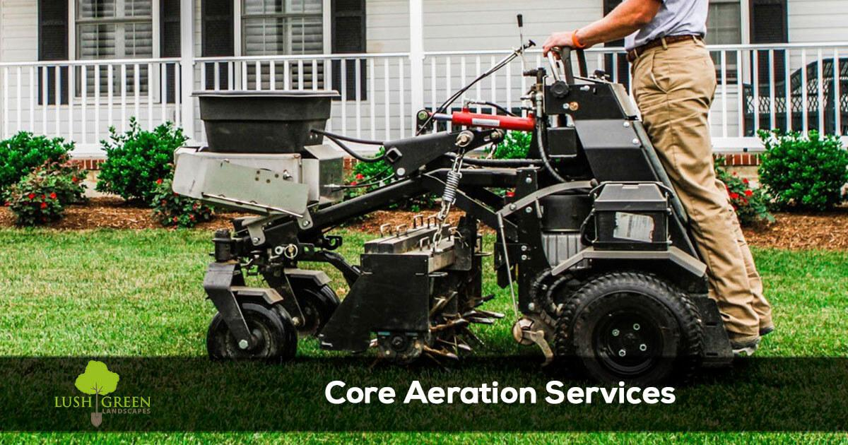 Grand Junction Colorado Lawn Aeration and core aeration services