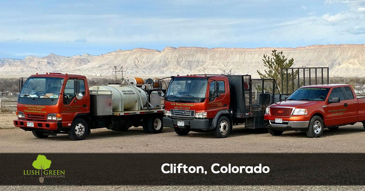Lawn and landscape services in Clifton Colorado