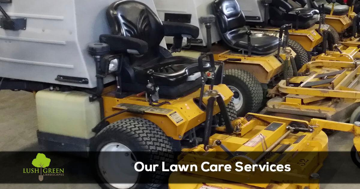 Lawn care and landscaping services in the Grand Junction Colorado area from Lush Green Landscapes