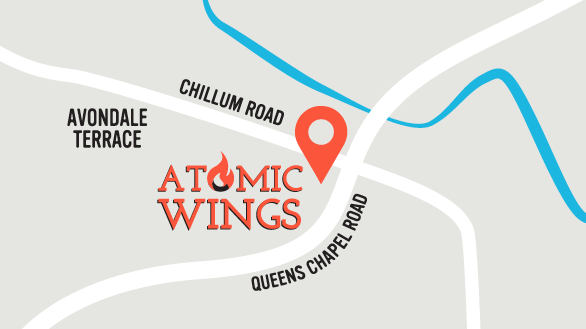 Find Locations of Atomic Wings