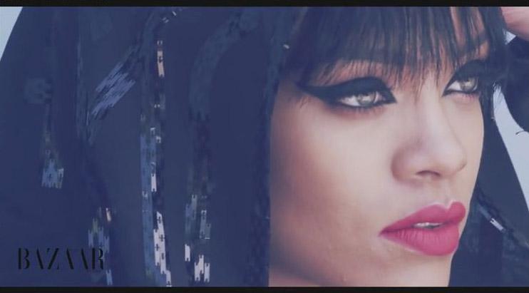 Rihanna for Harper's Bazaar Arabia Lora Arellano