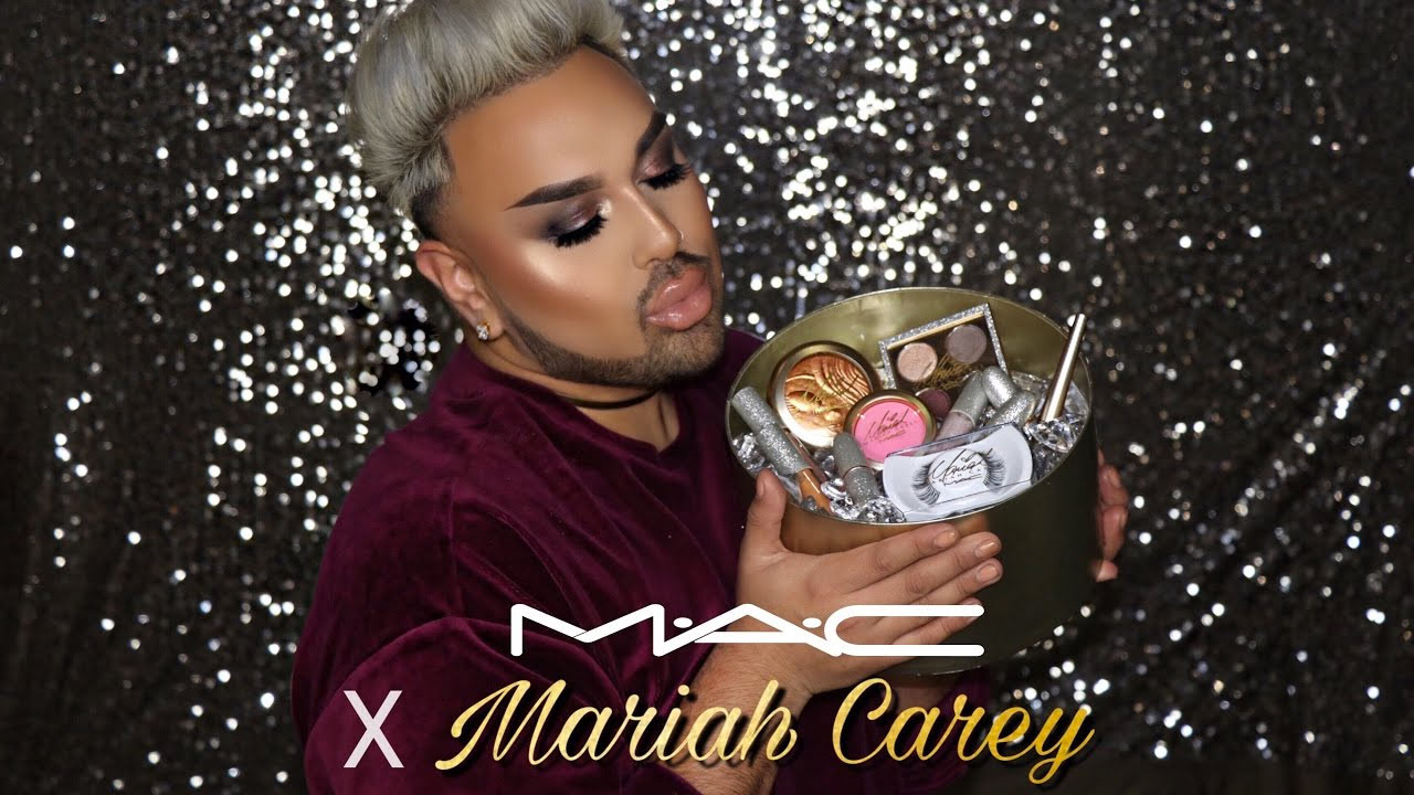 Mariah Carey x MAC | Unboxing, Review, Swatches, & Tutorial | Angel Merino | @mac_daddyy
