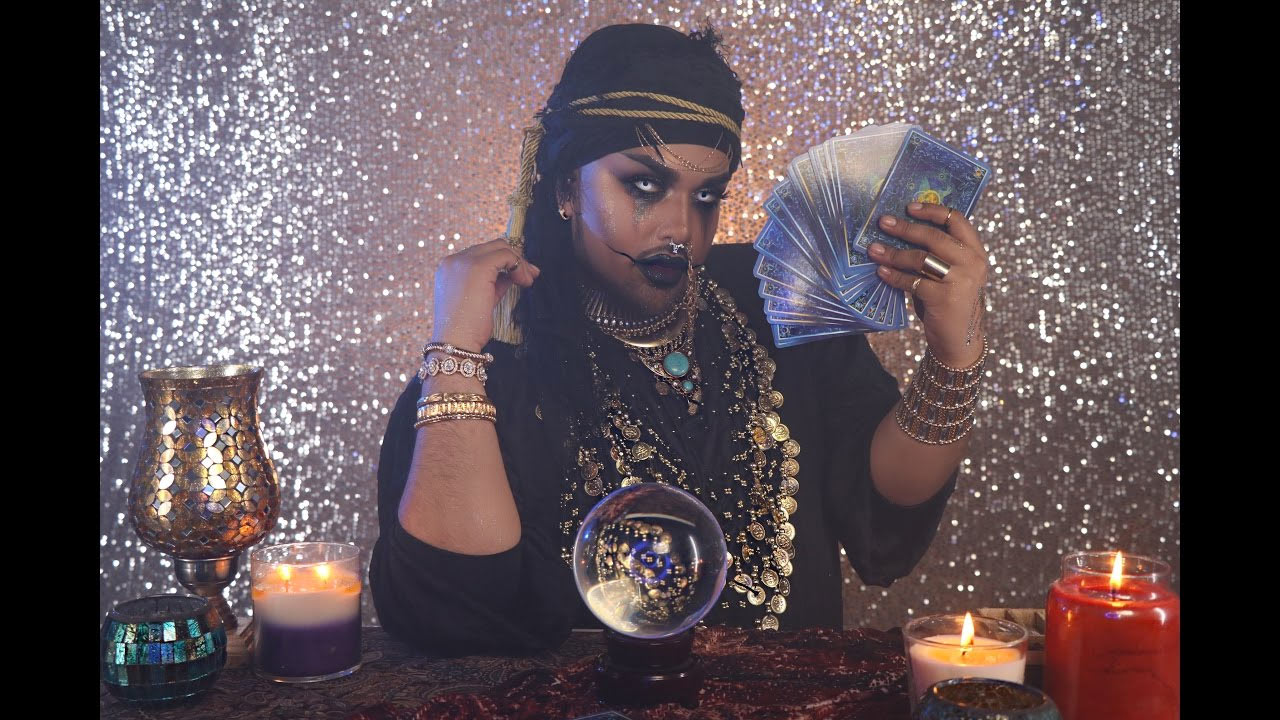 Fortune Teller Halloween Makeup Tutorial | @mac_daddyy | Angel Merino