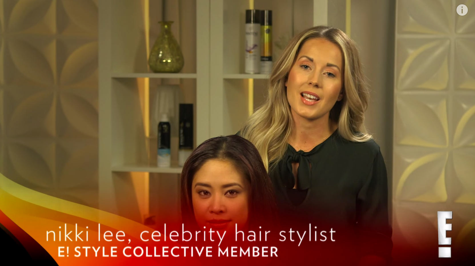 ESC & Pantene Show How to Create the Braided Crown | E! Nikki Lee