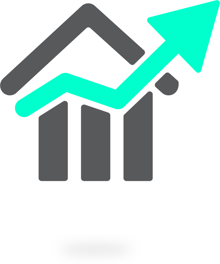 house price graph icon
