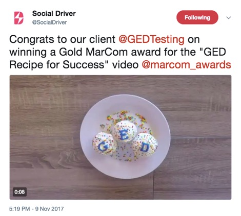 Case story gedgradday social driver for Ged integrated solutions